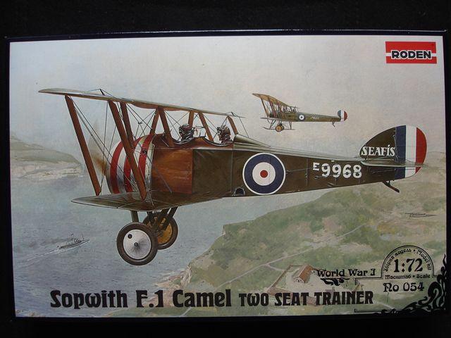 Истребитель Sopwith F.1 Camel RAF two seat trainer Roden 054