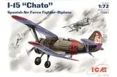 Испанский истребитель I-15 Chato