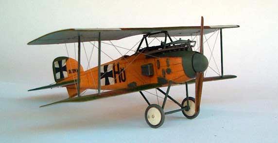 Истребитель-биплан Альбатрос D.I Roden 001