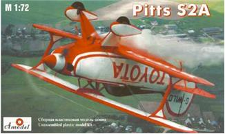 Pitts S-2A Пилотажный самолет-биплан Amodel 7228
