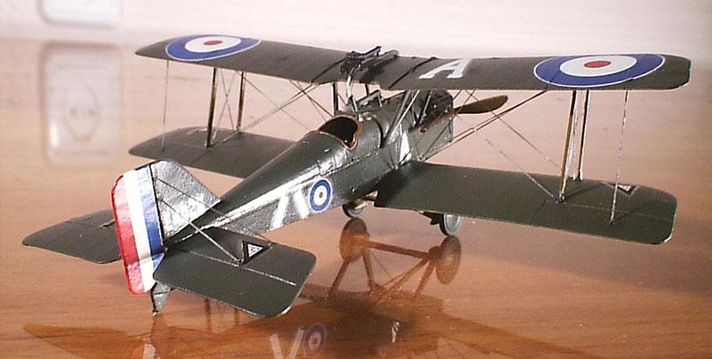Британский истребитель-биплан RAF S.E.5a w/Wolseley Viper Roden 045