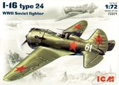 Советский истребитель Поликарпов И-16 тип 24