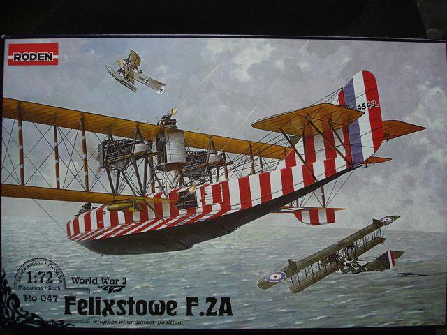 Летающая лодка Felixstowe F.2A w/upper wing gunner position Roden 047