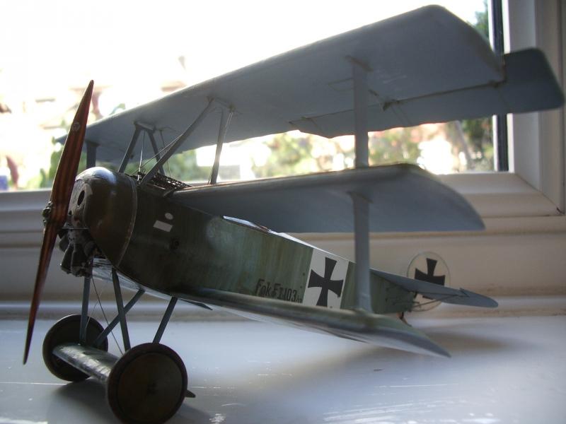 Германский истребитель-триплан Fokker F.I Roden 605