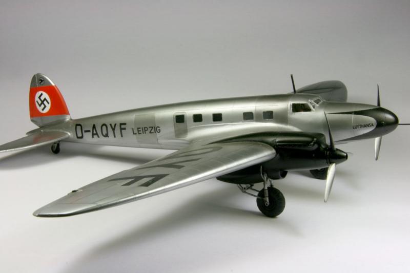 Бомбардировщик Heinkel He-111C Roden 009