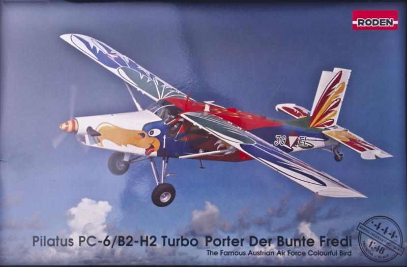 Самолет Пилатус ПС-6/Б1-H2 Турбо-Портер Roden 444