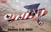 Немецкий истребитель Albatros D.III (OAW)