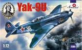 Одномоторный истребитель Як-9У (улучшенный)