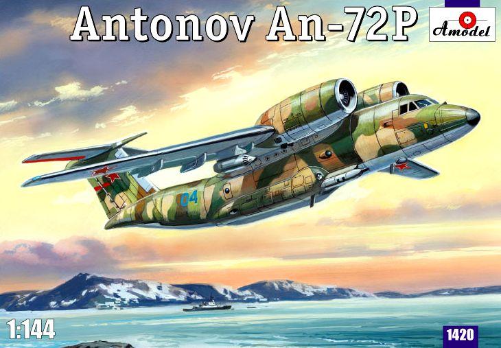 Патрульный самолет Ан-72П Amodel 1420