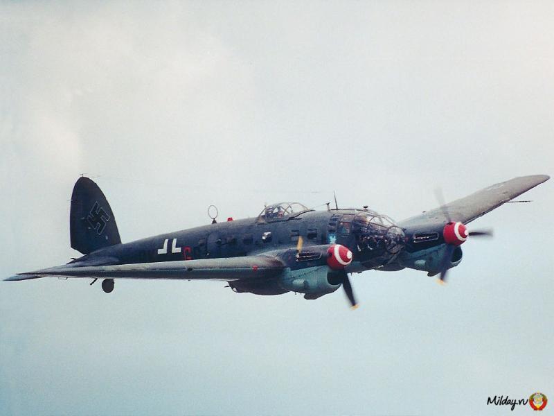 Немецкий средний бомбардировщик Heinkel He-111A Roden 021