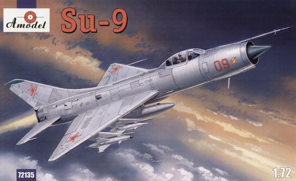 Советский истребитель - перехватчик Су-9 Amodel 72135