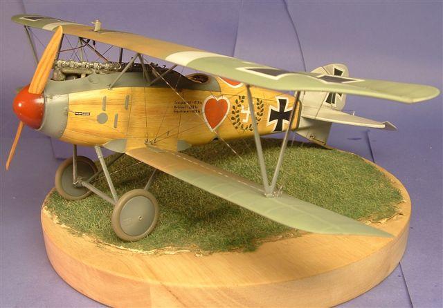 Немецкий истребитель Albatros D.III Roden 012