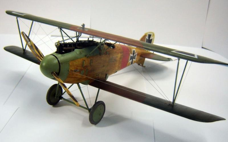 Немецкий истребитель Albatros D.III Roden 606