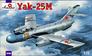 Истребитель Яковлев Як-25M Amodel 72143 основная фотография