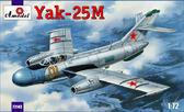 Истребитель Яковлев Як-25M