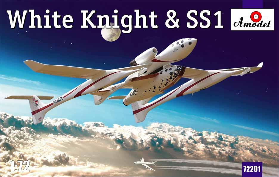 Космический корабль SS1 и авианосец White Knight Amodel 72201