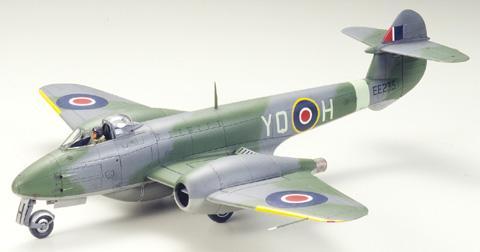Британский Gloster Meteor F.3 Tamiya 61083