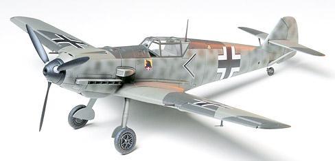 Немецкий истребитель Messerschmitt Bf109 E-3 Tamiya 61050