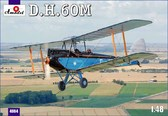 Биплан de Havilland DH.60M Metal Moth