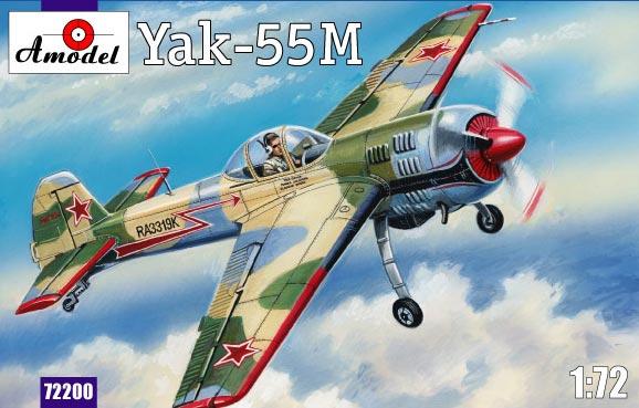 Пилотажный самолет Як-55M Amodel 72200