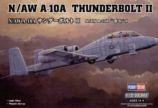 Штурмовик N/AW A-10A Thunderbolt  II Hobby Boss 80267