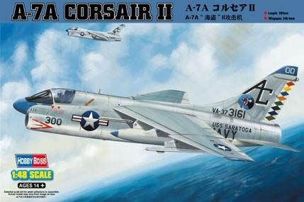 Штурмовик A-7A Corsair II Hobby Boss 80342