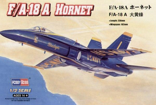 "Истребитель F/A-18A ""Hornet"" Hobby Boss 80268"