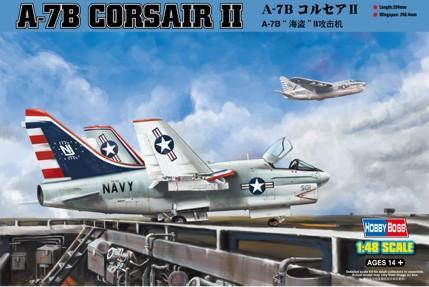 Штурмовик A-7B Corsair II Hobby Boss 80343