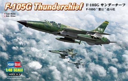 Истребитель F-105G Thunderchief Hobby Boss 80333