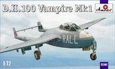 Истребитель D.H.100 Vampire Mk1 RAF