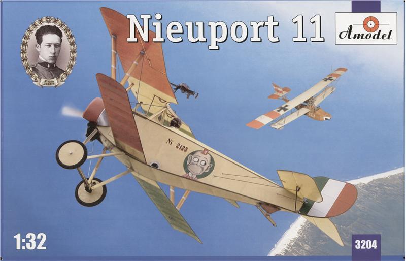 Биплан Nieuport 11 (Italy) Amodel 3204