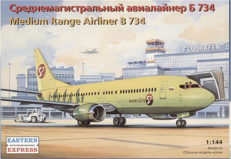 Среднемагистральный авиалайнер Boeing 734 Eastern Express 14425