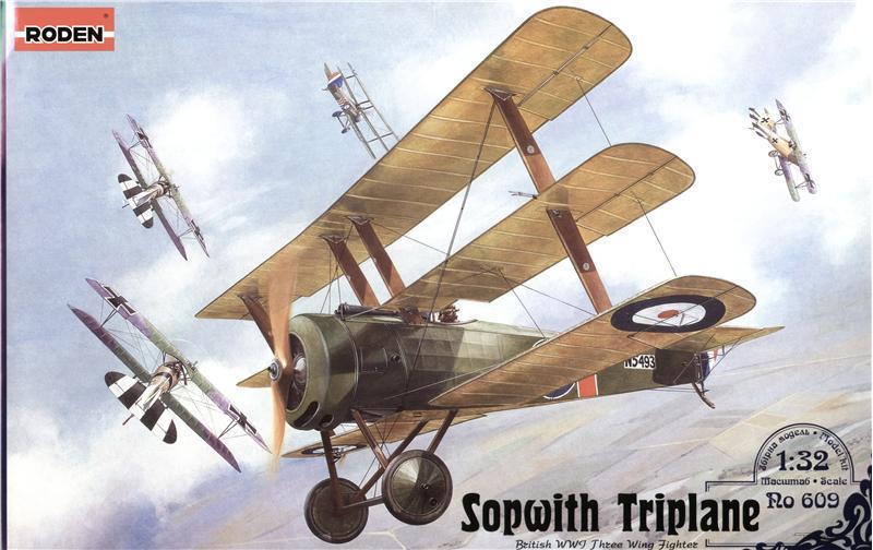 Истребитель Sopwith Triplane Roden 609