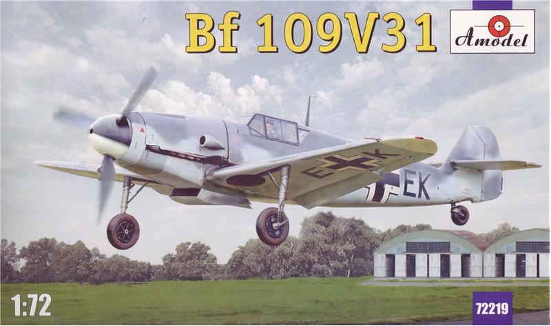 Истребитель Messerschmitt  Bf-109V31 Amodel 72219