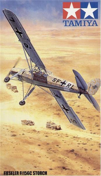 Немецкий самолет Физелер Fi Fi156C
