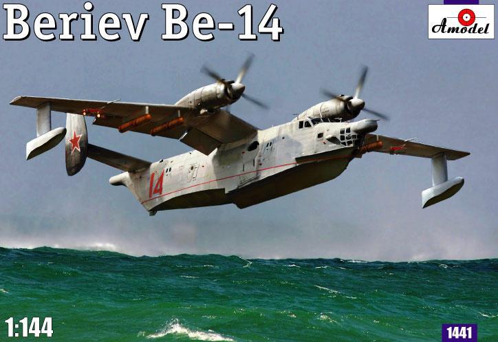 Советский спасательный самолет-амфибия Beriev Be-14 Amodel 1441