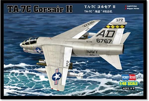 Штурмовик TA-7C Corsair II Hobby Boss 80346