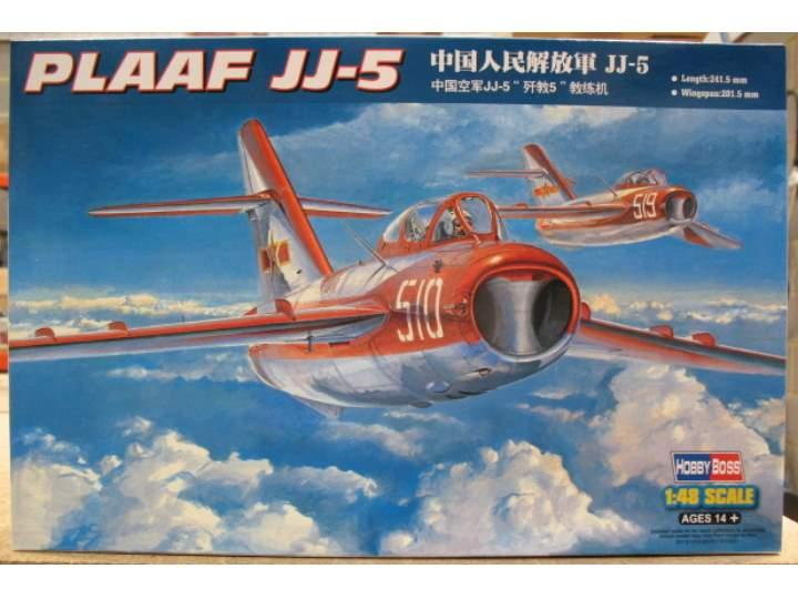 Истребитель PLAAF JJ-5 Hobby Boss 80399