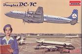Транспортный самолет Douglas DC-7C KLM Королевские Голландские авиалинии