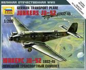 Немецкий транспортный самолет Ju-52