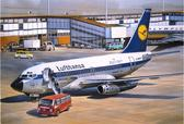 Гражданский авиалайнер Boeing 737-100