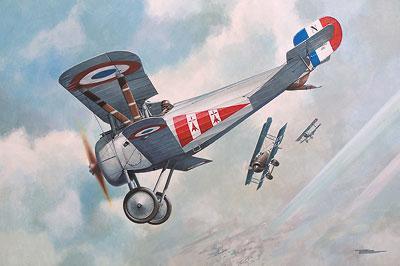 Истребитель-биплан Ньюпорт 24 бис Roden 059