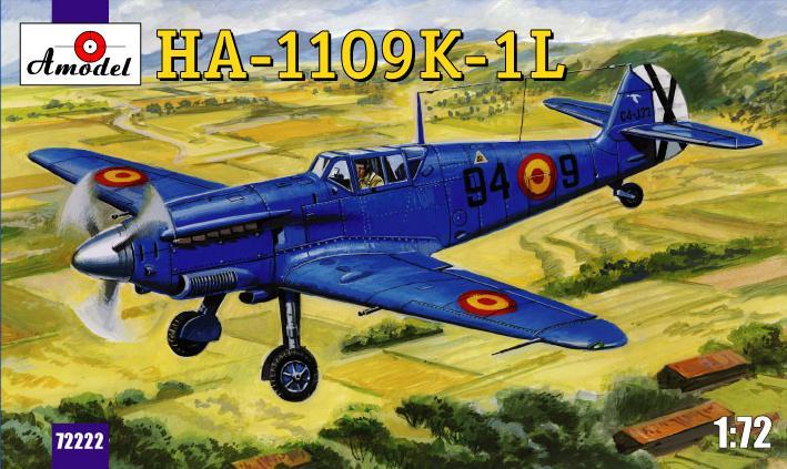 Испанский истребитель HA-1109-K1L Amodel 72222