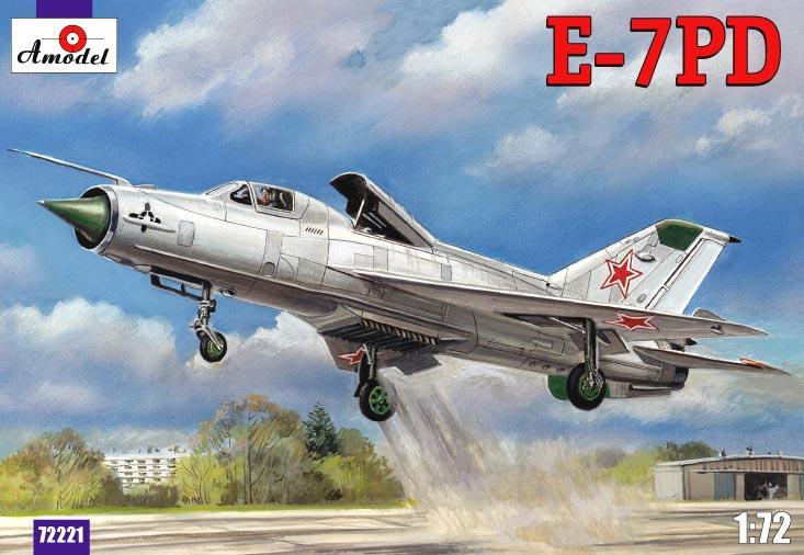 Самолет Е-7ПД (E-7PD) Amodel 72221