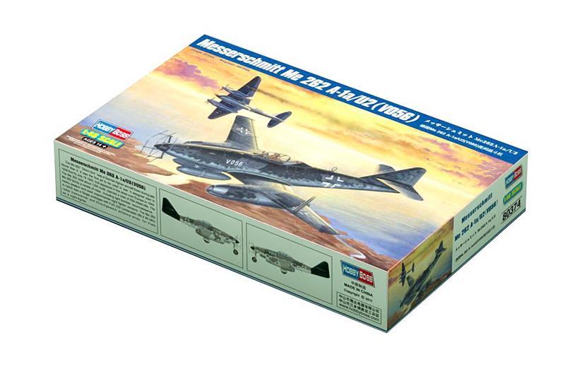 Бомбардировщик Me 262 A-1a/U2(V056) Hobby Boss 80374