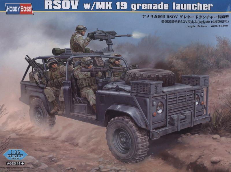 Боевая машина RSOV w/MK 19 с гранатометом MK 19 Hobby Boss 82449
