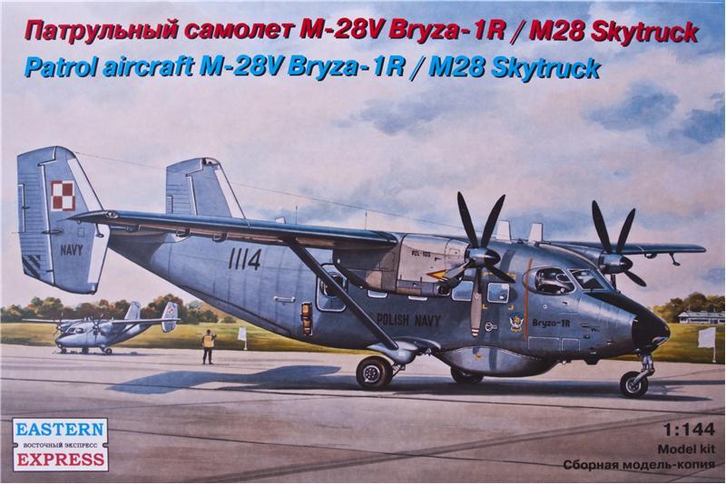 Патрульный самолет М-28V Bryza-1R/M28 Skytruck Eastern Express 14445