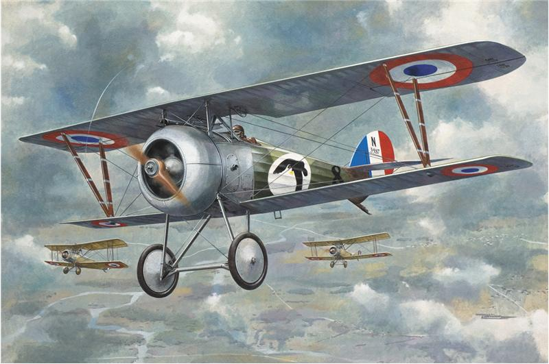 Истребитель-биплан Ньюпорт 24 Roden 618