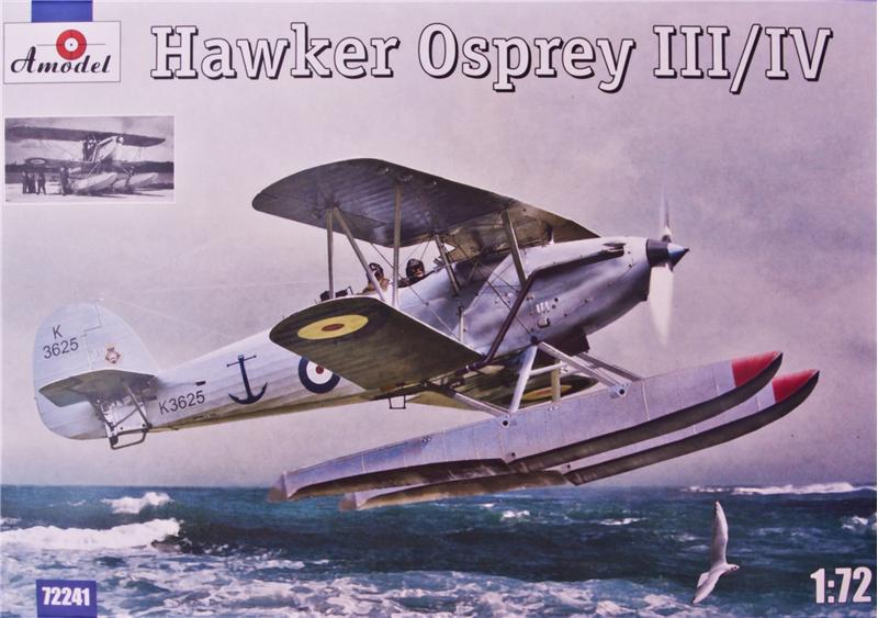Самолет-разведчик Хоукер Оспри III/IV   (Hawker Osprey) Amodel 72241