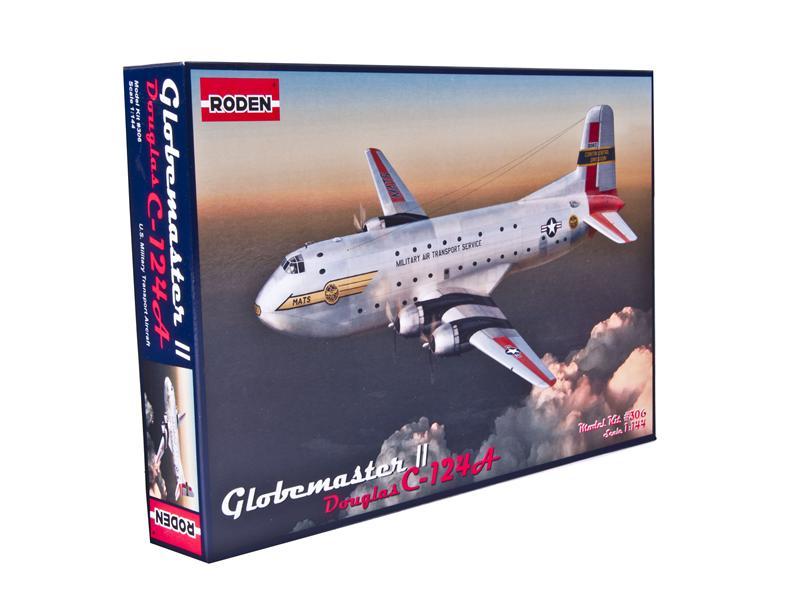 Транспортный самолет C-124 Globemaster II Roden 306